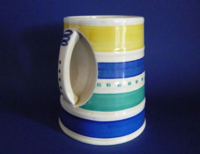 Rare Susie Cooper Crown Works Pottery Tankard c1932